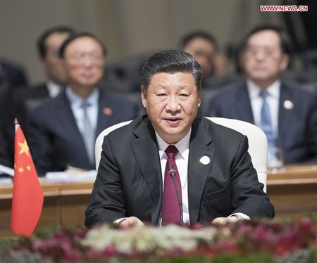 Xi Calls on BRICS Countries to